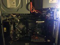 Broken PC 8GB of Ram Intel premium dual core working Gtx 610