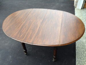 Antique Folding Table with Inserts