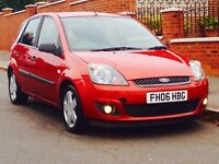 FORD FIESTA 1.2 ZETEC 2006 LOW MILEAGE JUST SERVICED CAMBELT CHANGED MOT 3 MONTHS WARRANTY
