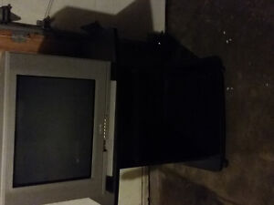 tv table and tv for free