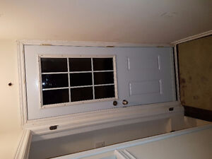 basement door and windows installation