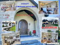 Luxury Estate Home minutes from Cambridge and Brantford