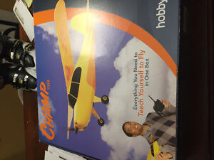 Hobbyzone Champ rtf remote control airplane