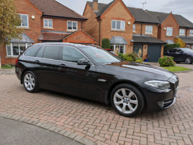 BMW 520 D SE Touring 2013, Black, Immaculate Condition, FSH