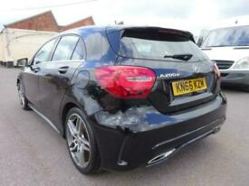image for 2016 66 REG MERCEDES BENZ A CLASS A200 AMG LINE DIESEL AUTO DAMAGED SALVAGE