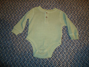 Boys Size 12-18 Months Long Sleeve Onesie