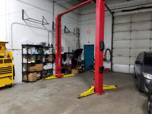 Automotive Bay Rental (Hoist, Air line, Tire Machine & Balancer)