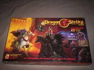 DRAGON STRIKE RPG VHS BOARD-GAME 100% COMPLETE SUPER SHAPE RARE!