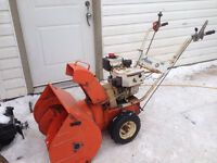 Ariens snowblower with electric start