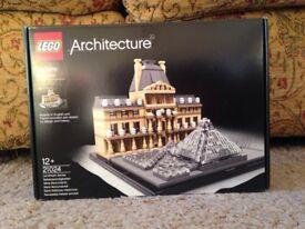 Lego Architecture Louvre New