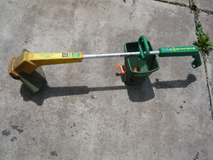 Weed eater,seed spreader,weed remover,all metal