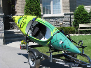 ADULT CLEARWATER IQUALIT KAYAK FOR SALE