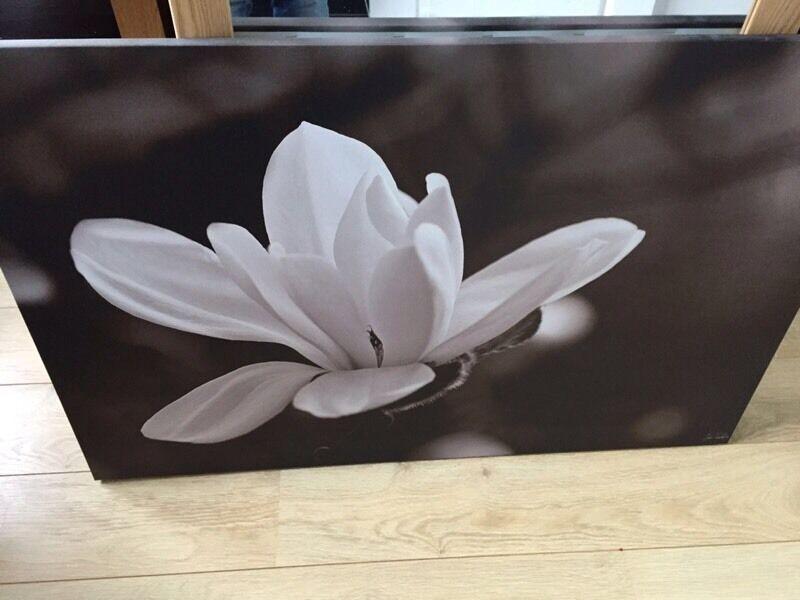 Ikea flower print