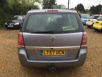 2008 Vauxhall Zafira 1.8i 16v Easytronic Club petrol 7 seater