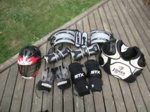 Lacrosse gear for early teen