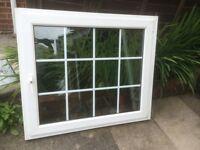 UPVC double glazed tilt and open window