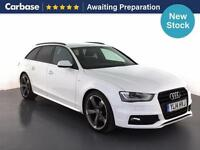 2014 AUDI A4 2.0 TDI 177 Black Edition 5dr Multitronic 5dr Avant