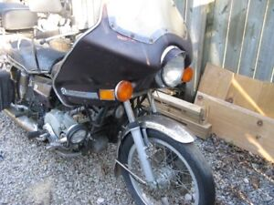 1976 Hondamatic 750 motorcycle