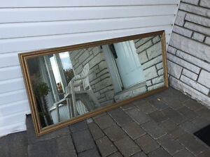 MIRROR 57X25 - USED West Island Greater Montréal image 1