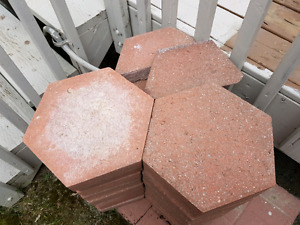 Pierre patio hexagonal patio stones