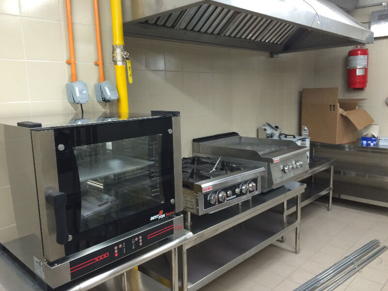 Kitchen Exhaust Hood Ducting and FCU Aircon duct works