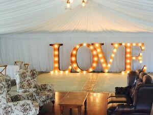LIGHT UP LOVE LETTERS FOR HIRE - WEDDING - PARTIES - BIRTHDAYS Perth Perth City Area Preview