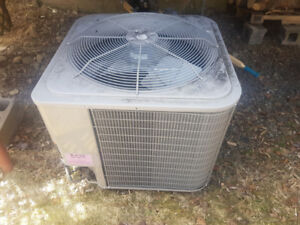 Heat pump two year old, used for three months. like new.