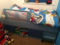 Cabin bed and matching wardrobe