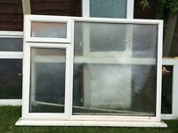 Double glazed upvc window