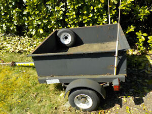 Utility Trailer - handy for yard work and moving!