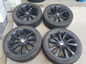 Black Dodge Avenger Rims