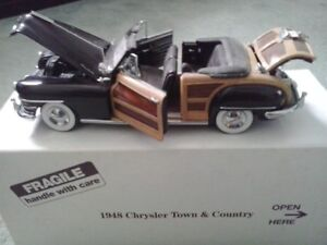 Danbury Mint 1948 Chrysler Town & Country Convertible 1:24 Scale