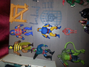 Heman gi joe tmnt spawn transformers ghostbusters