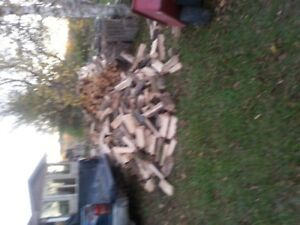 excellent quality firewood seasoned, cut split and delivered