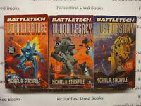 """Battletech: Blood of Kerensky Trilogy"""