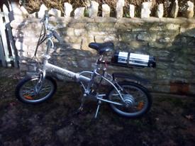 Electric Bike - Greencity Folding Cycle