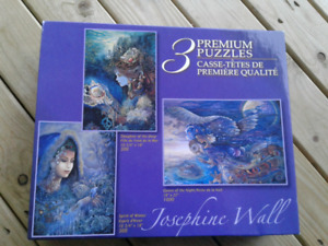 BRAND NEW Set of 3 Jigsaw Puzzles