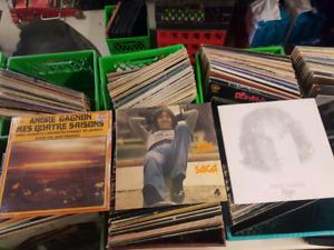 3 disques Vinyles de André Gagnon