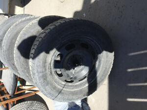 Winter tires/rims for sale