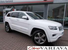 2014 Jeep Grand Cherokee V6 CRD OVERLAND Diesel white Automatic