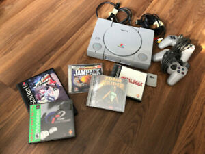 Sony PlayStation 1 PS1 System Console Complete - Tested, Working