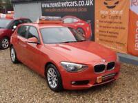 BMW 1 SERIES 116D EFFICIENTDYNAMICS SPORT HATCH 5dr Orange Manual Diesel, 2014