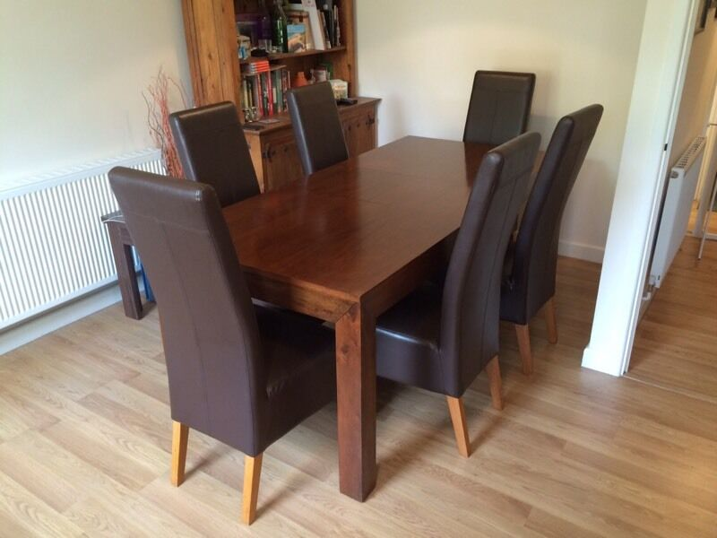 Next Extendable Dining Table 6 Chairs