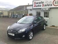 2014 14 FORD FOCUS ZETEC 1.6L - ONLY 15,527 MILES - FULL SERVICE HISTORY