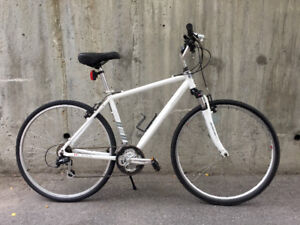 White 2013 Raleigh Sport 24speed front shock and upgrades