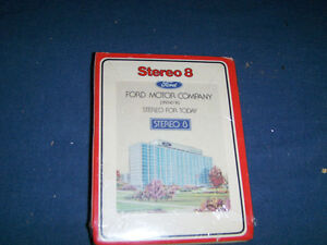 VINTAGE 1975 FORD MOTOR CO. 8 TRACK-STEREO FOR TODAY-SEALED!