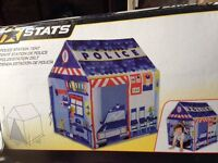 Police station play house tent