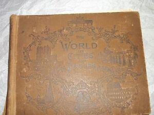 The World: Its cities and Peoples-circa1894