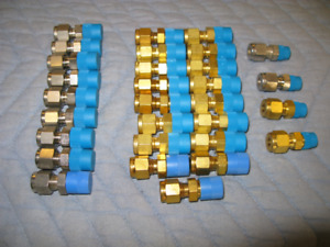 NEW SS & Brass Adapter Gas, Water & Refrigeration Fittings