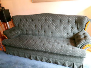 Sofa / Couch with pullout double bed $75